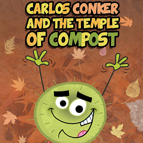 Conkers Childrens Book Cover Illustration